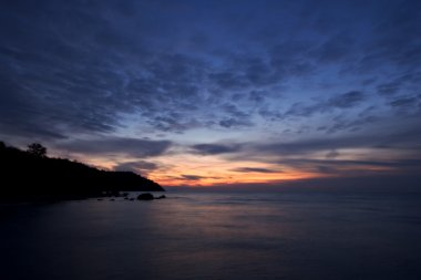 Sunrise at the Black Sea coast, Crimea