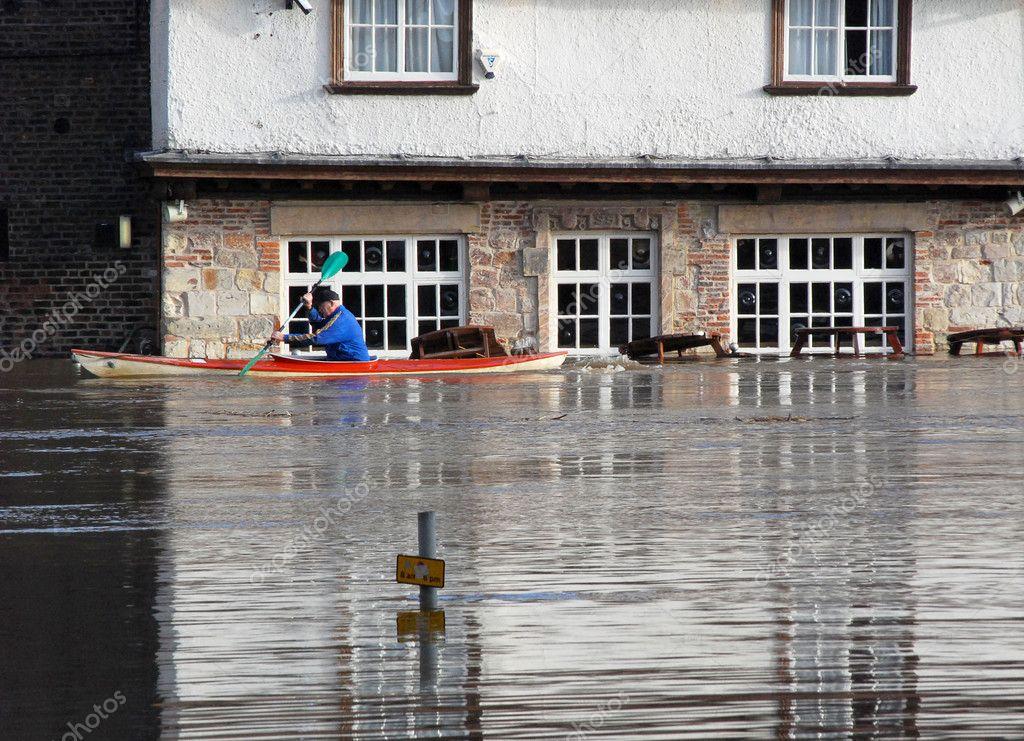 York Floods January 2008