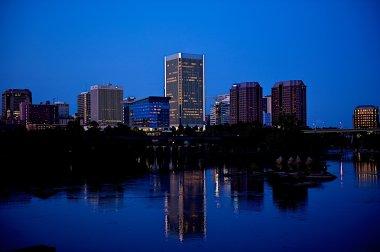 Night city scenic