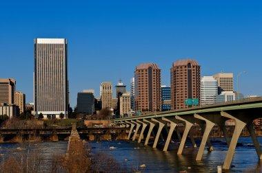 Cityscape of Richmond, Virginia.
