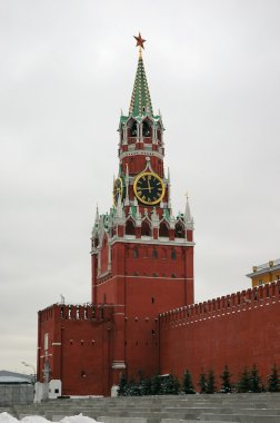 Savior Tower at the Red Square