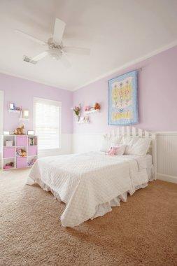 Interior of Girl's Bedroom
