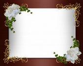 Svatební pozvání hranice elegantní
