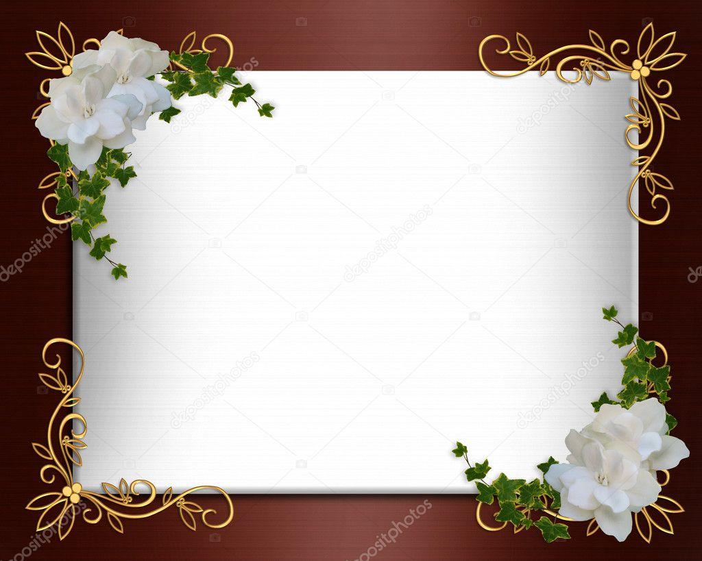 Wedding Invitation border elegant — Stock Photo © Irisangel #2004564