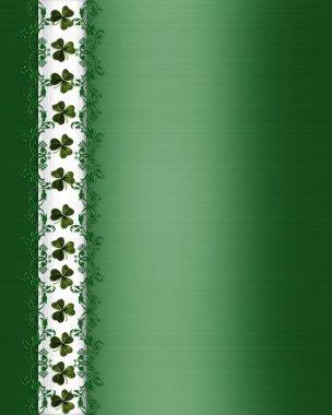 St Patricks Day Card Border