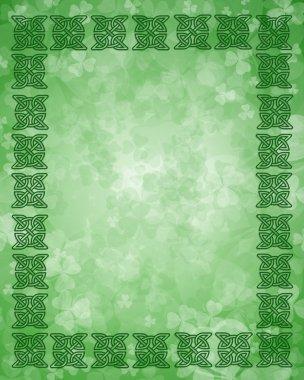St Patricks Day Celtic Knot Frame