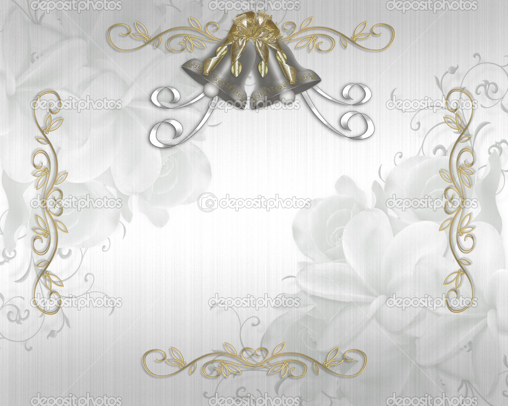 Wedding Bells Invitation Elegant