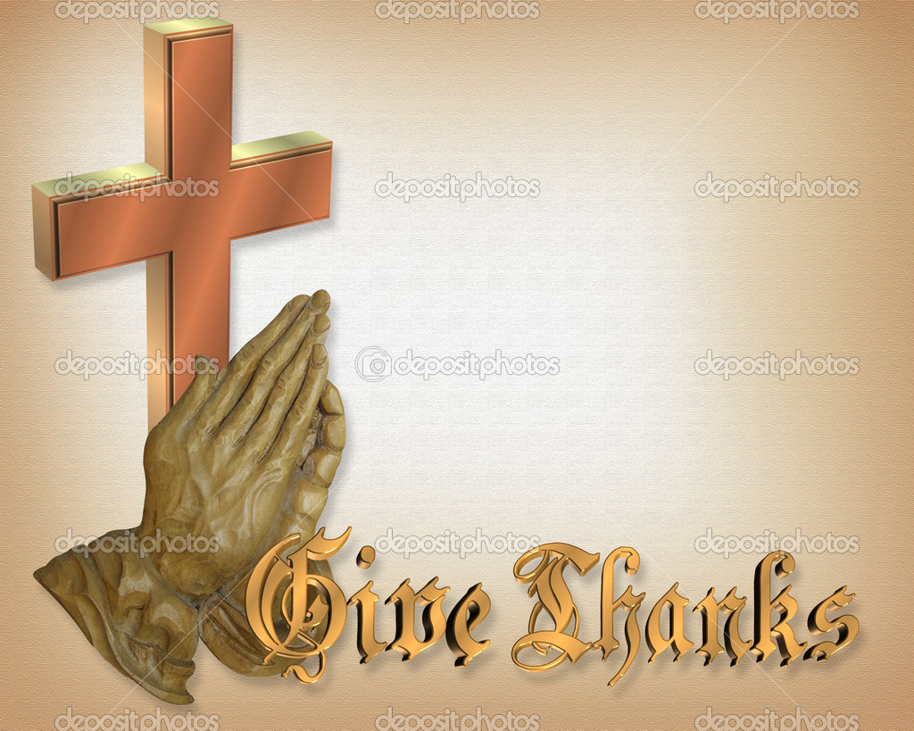Cruz Y Manos Oración De Acción De Gracias Fotos De Stock