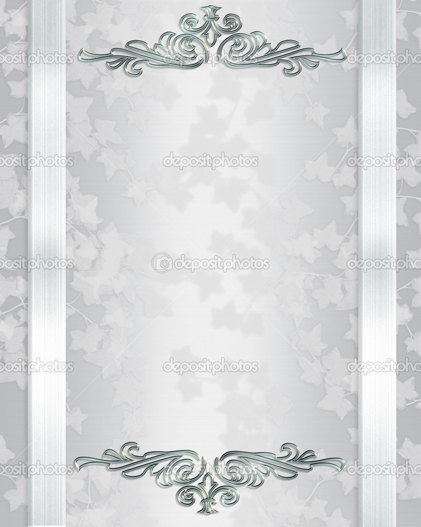 Wedding invitation background Stock Photo Irisangel 2155847