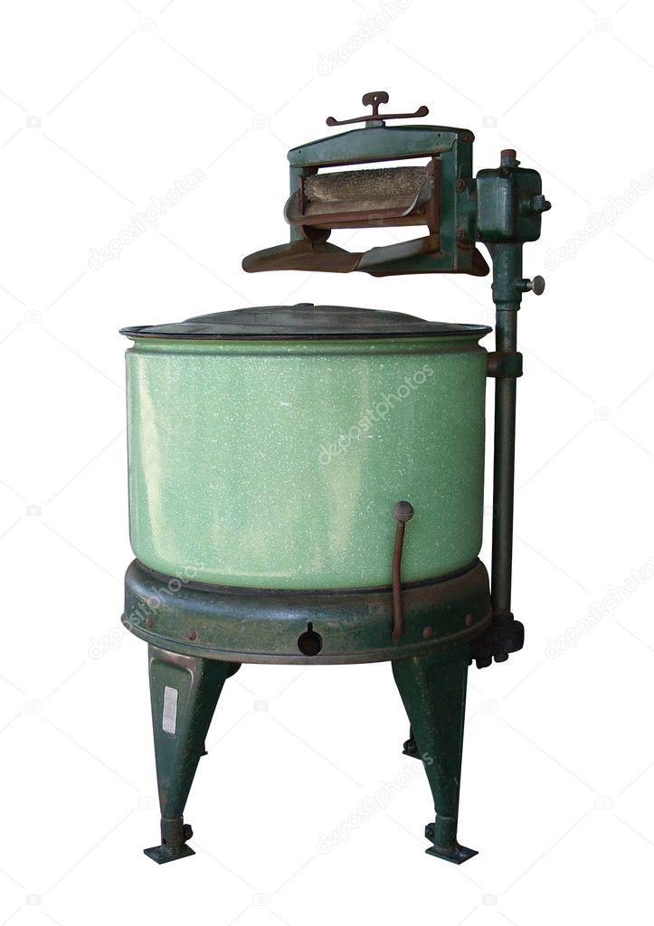 Old Washing Machine Isolated Stock Photo 169 Irisangel