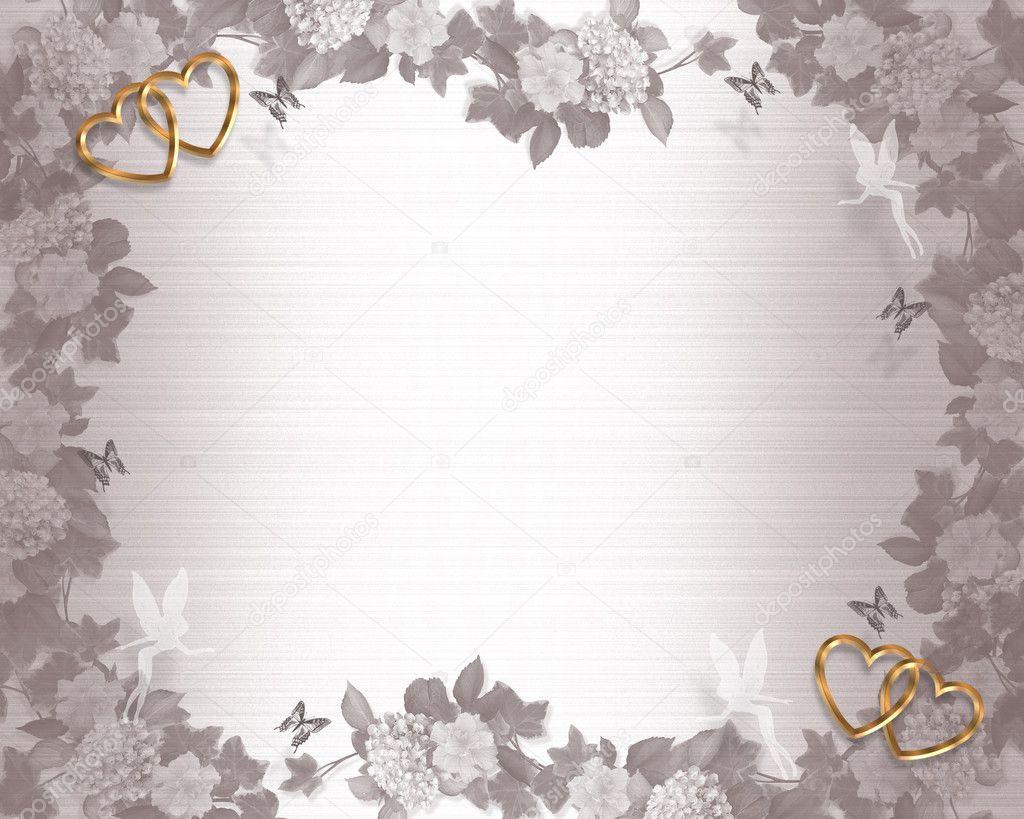 Wedding Invitation Backgrounds: Wedding Invitation Background Fairies