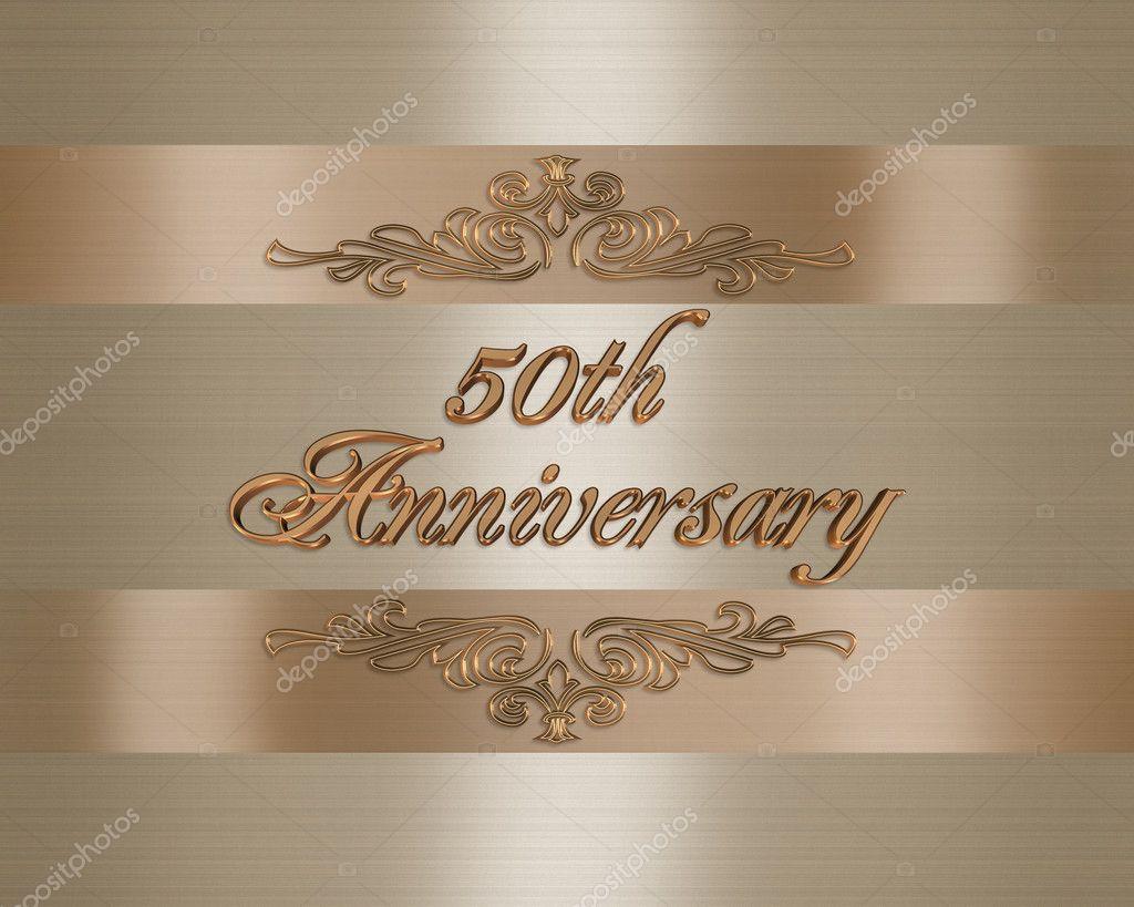 50 Aniversario De Bodas De Oro Fotos De Stock Irisangel