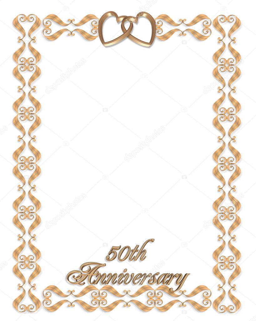 50th Anniversary Clip Art For