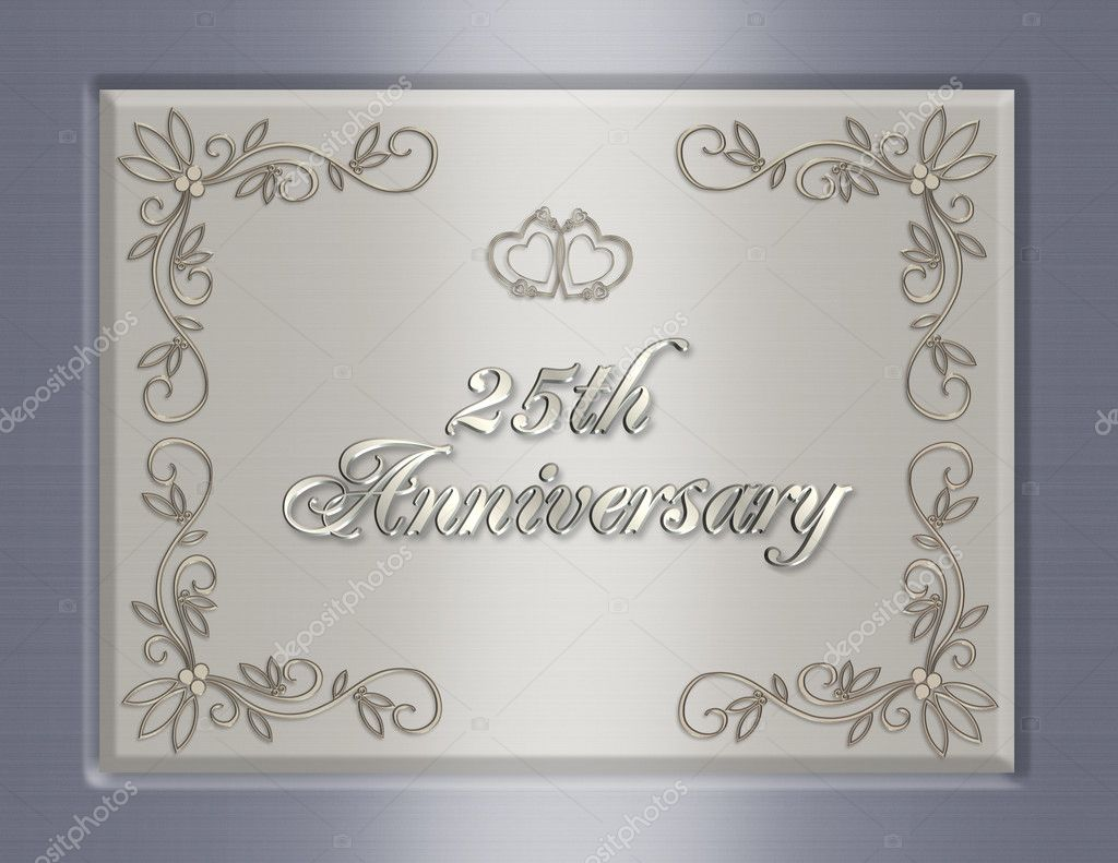 Pictures Wedding Anniversary Ideas 25th Wedding