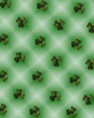 St Patricks Day background shamrocks