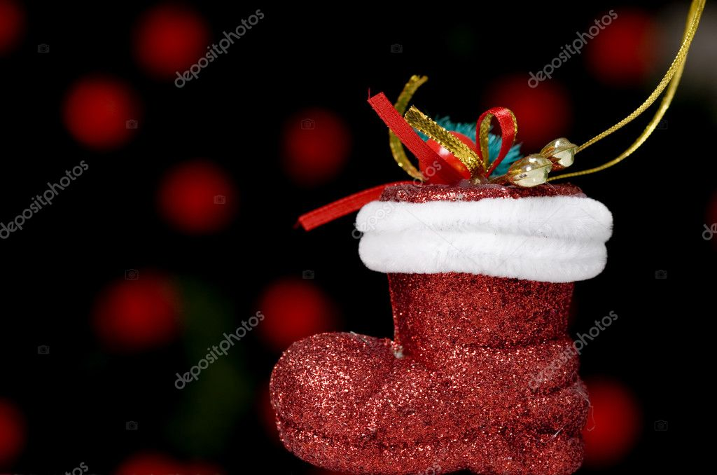 weihnachten schuh — Stockfoto © kokimk #2109336