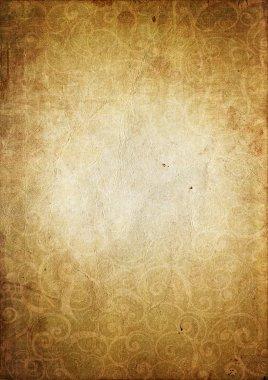 Velvet textured paper