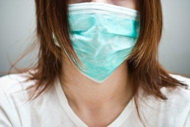 Women in mask