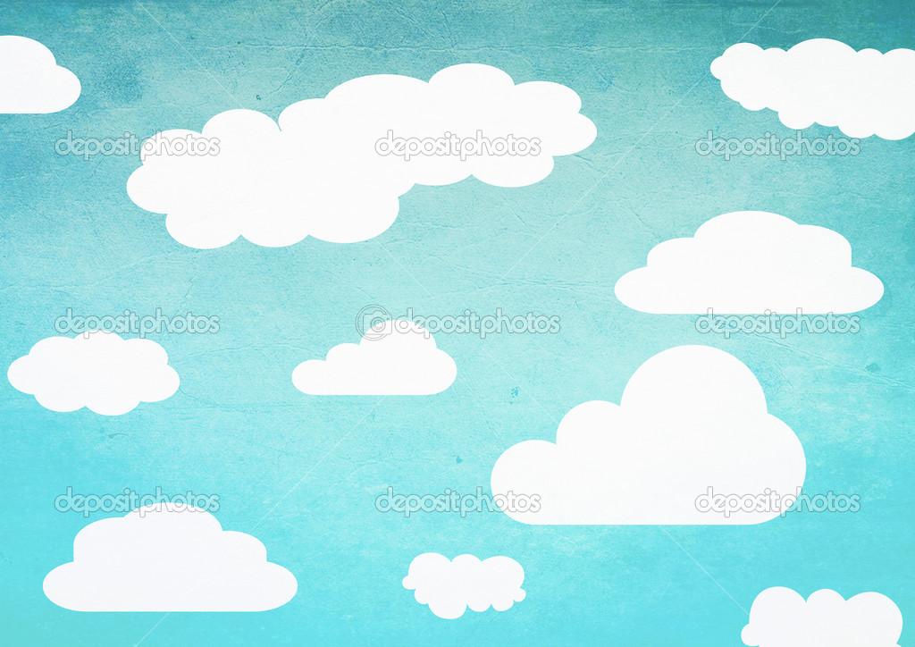 Simple Clouds Illustration