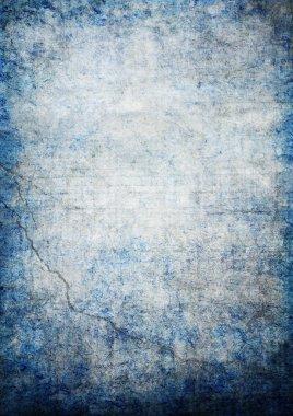 Blue Grunge Illustration
