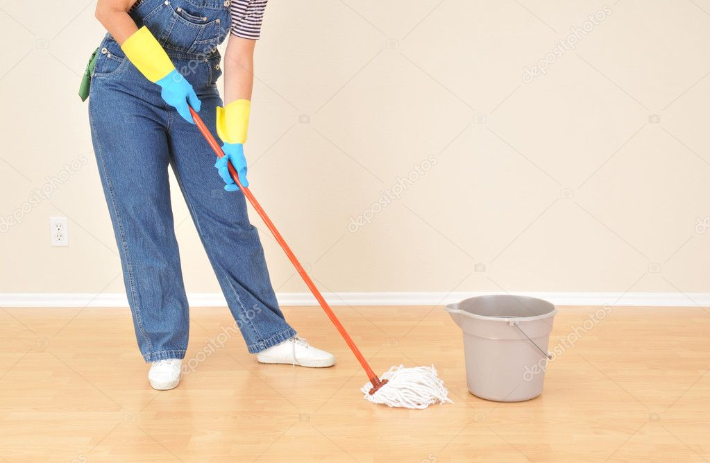 Image result for janitor mopping