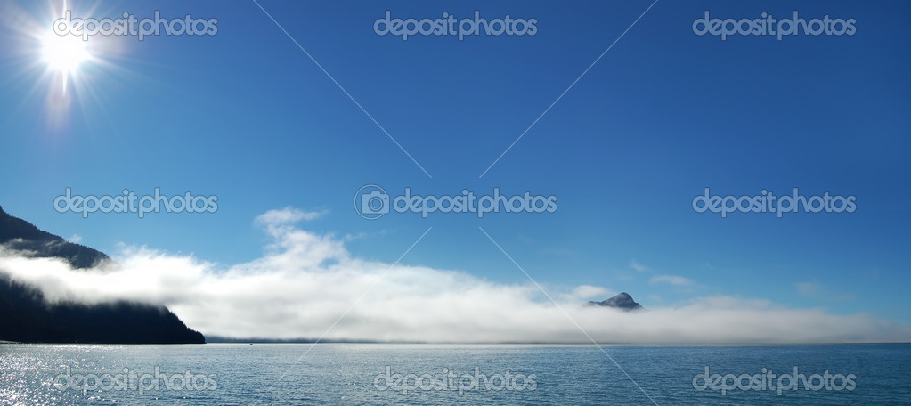 Journey to Mountain Morning in Alaska