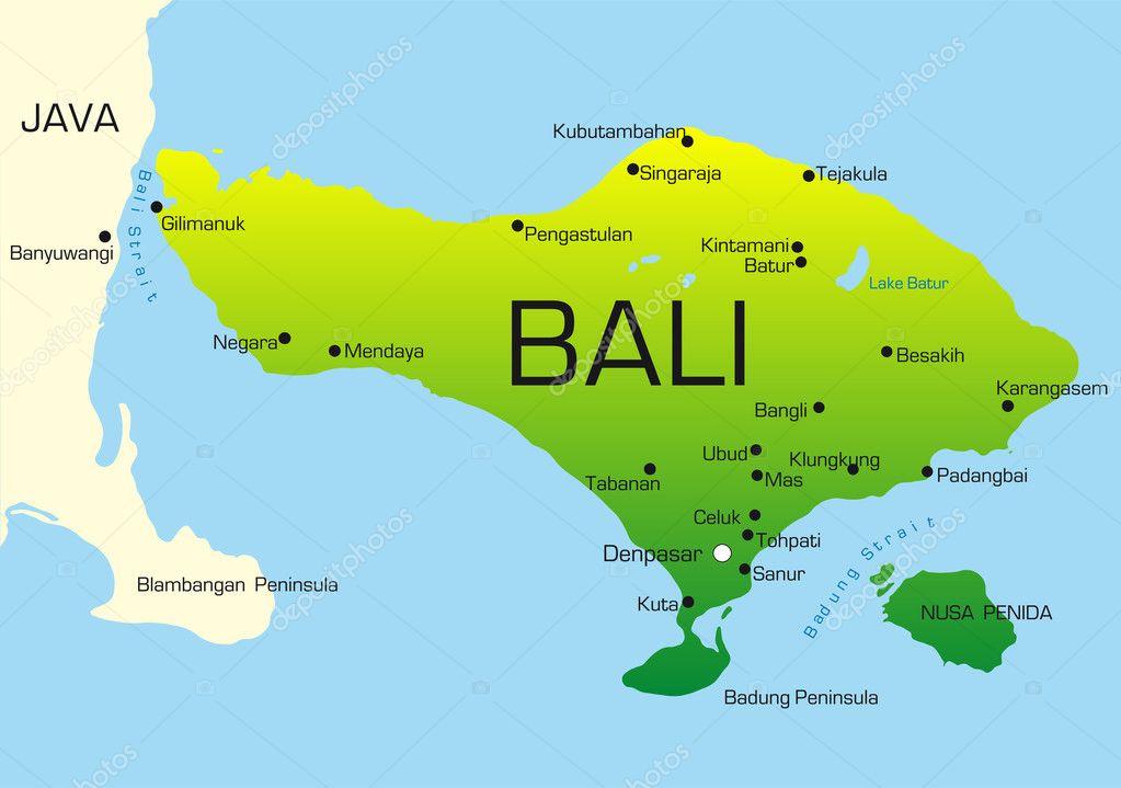 ᐈ Bali indonesia world map stock vectors, Royalty Free bali ...