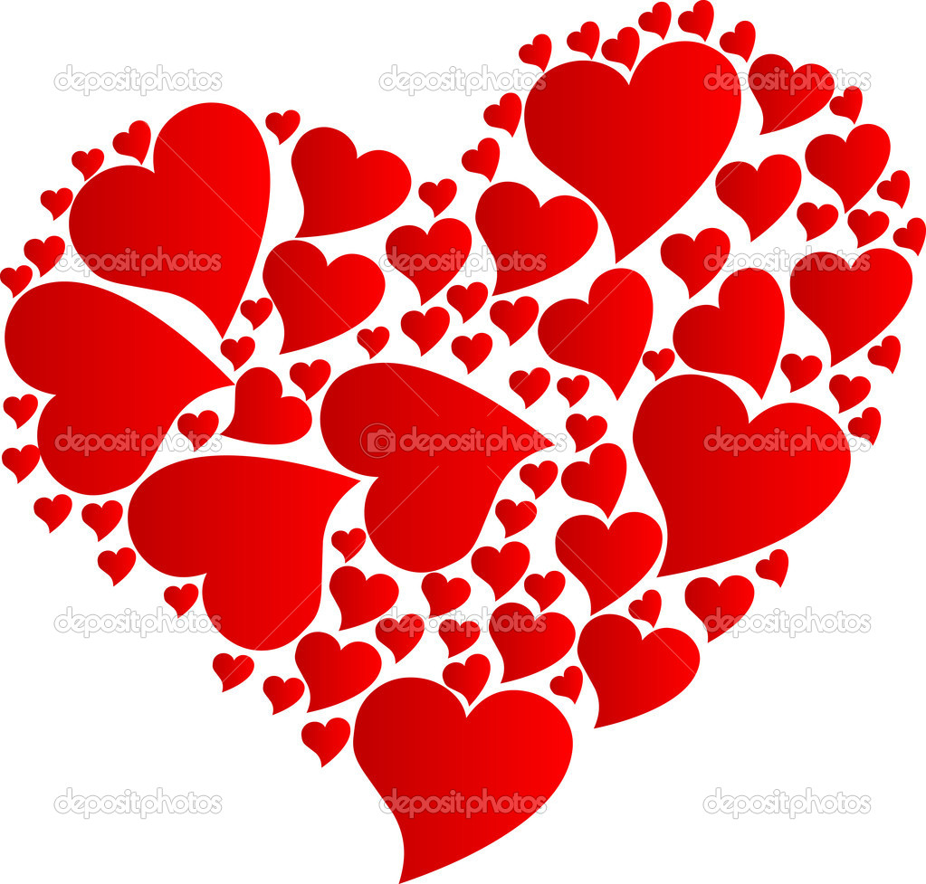 imagen de corazon - HD2400×2293