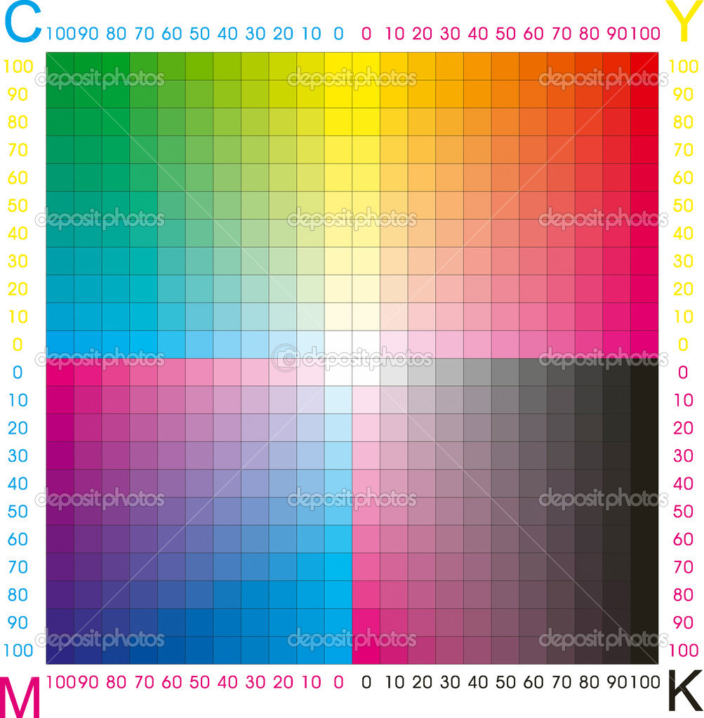 Cmyk color — Stock Vector © olinchuk #2146486