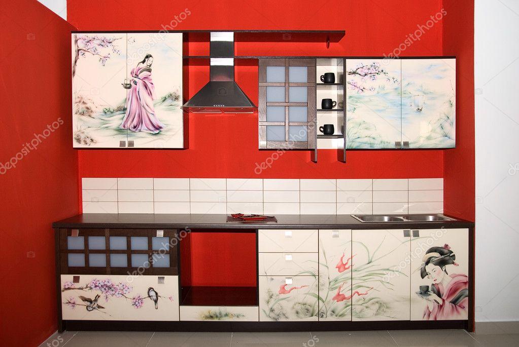 Küche im östlichen Stil — Stockfoto © olinchuk #2153105