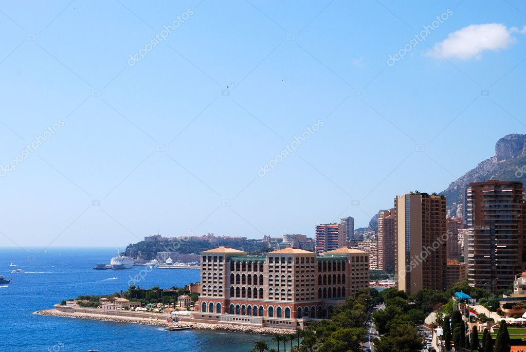 Monaco and mediterranean sea