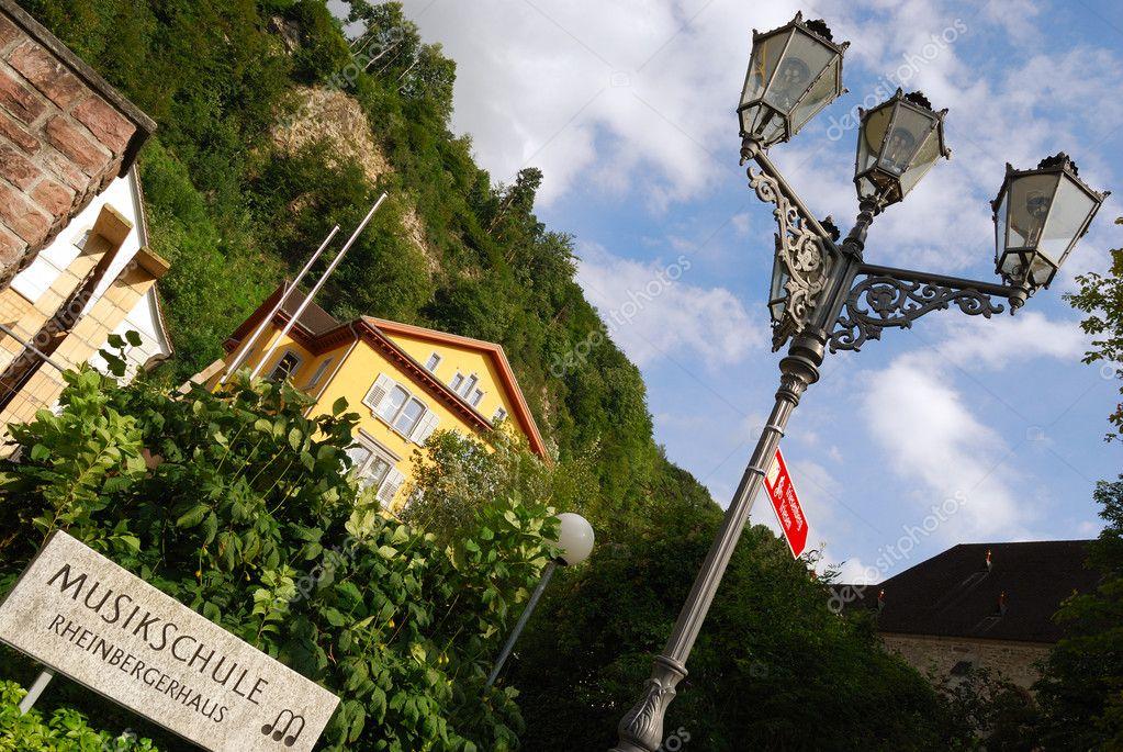 Music school in Vaduz, Liechtenstein