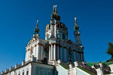 Orthodox church on Podol, in Kyiv