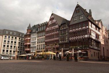 Medieval buildings in Frankfurt