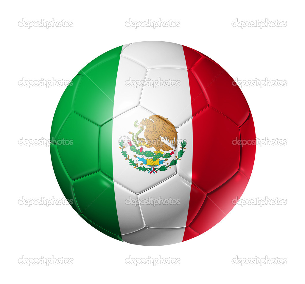 soccer football ball with mexico flag u2014 stock photo daboost 2070760