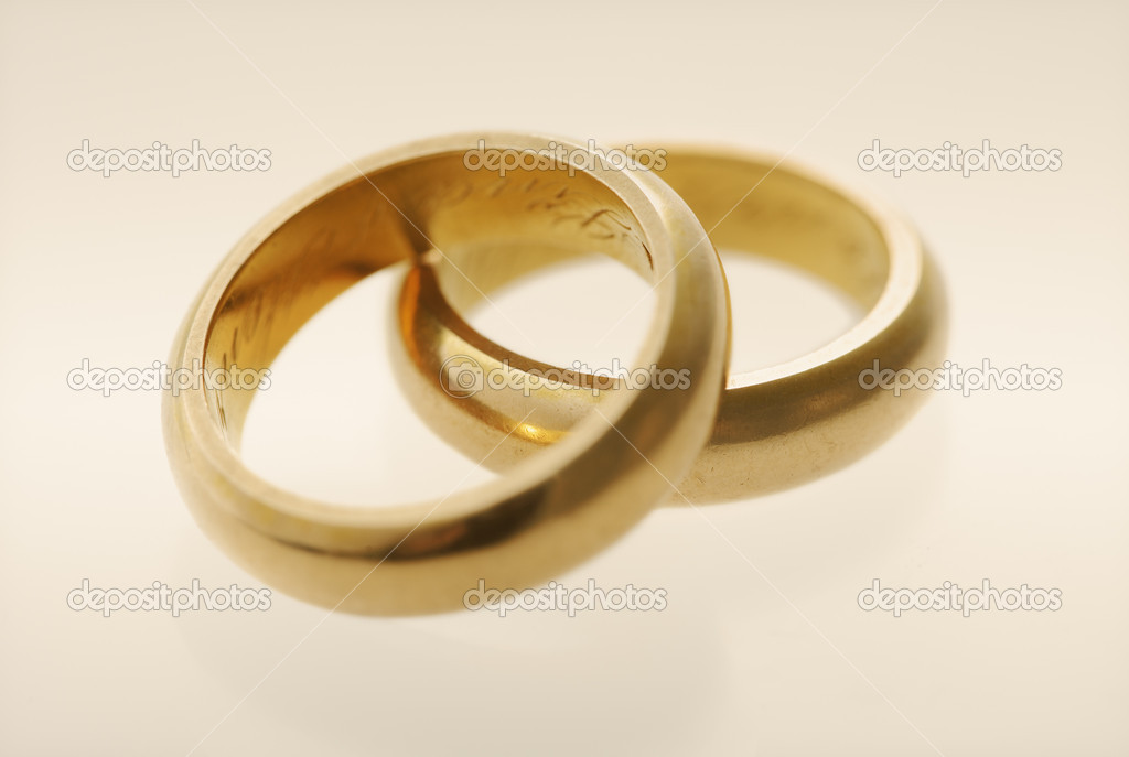 old wedding rings stock photo 2095822 - Old Wedding Rings