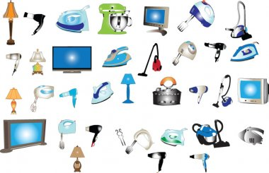Home appliances big collection