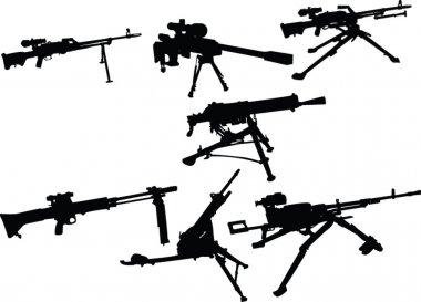 Machine gun collection