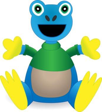 Stuffed Animal Exotic Amazon Frog Toy -