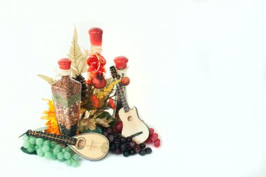 Cooking and Music Still Life