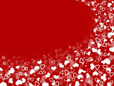 Abstract hearts background for holidays