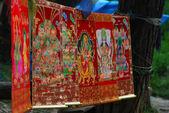 Thangka des tibetischen Buddhismus