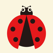 Photo Vector illustration of a ladybug