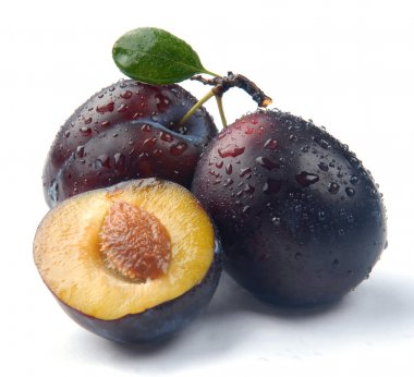 Plum and a half