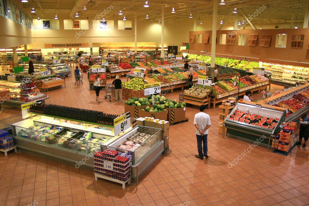 Modern Supermarket View
