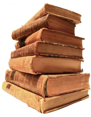 Pile of Old Books.