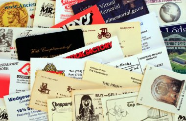 Miscellaneous Business Cards.