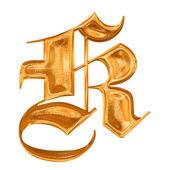 Fényképek aranyszínű minta gótikus levél k
