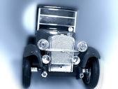 régi autó fogalmi kép.