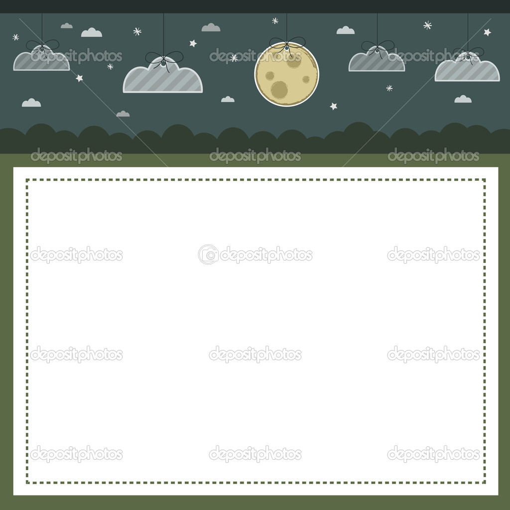 Night time nature background